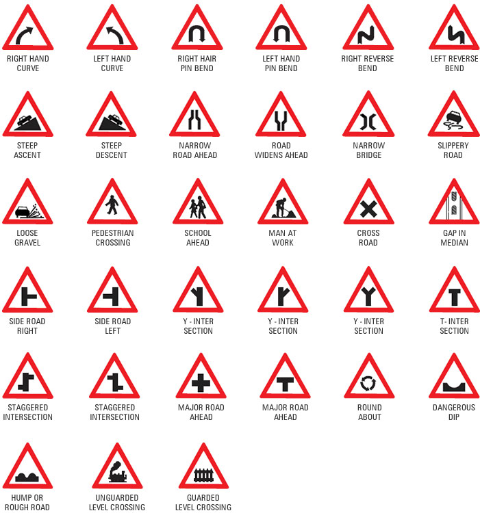 Traffic signal signs @ kerala rto - driving licence test